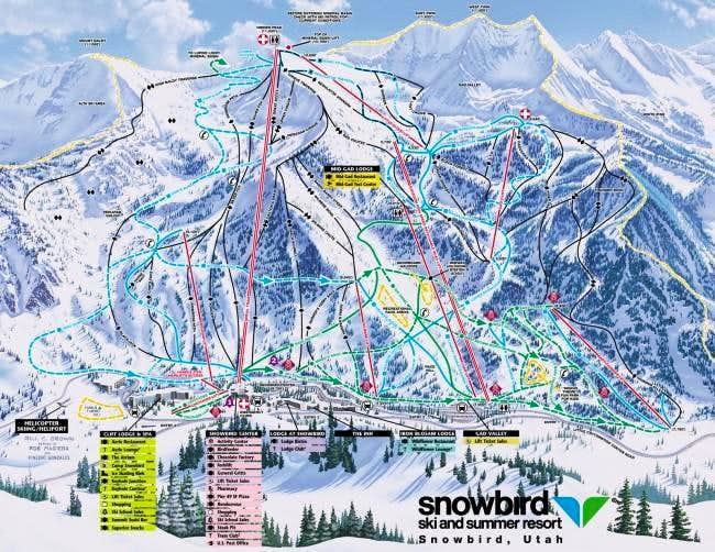 Snowbird trail map..for...