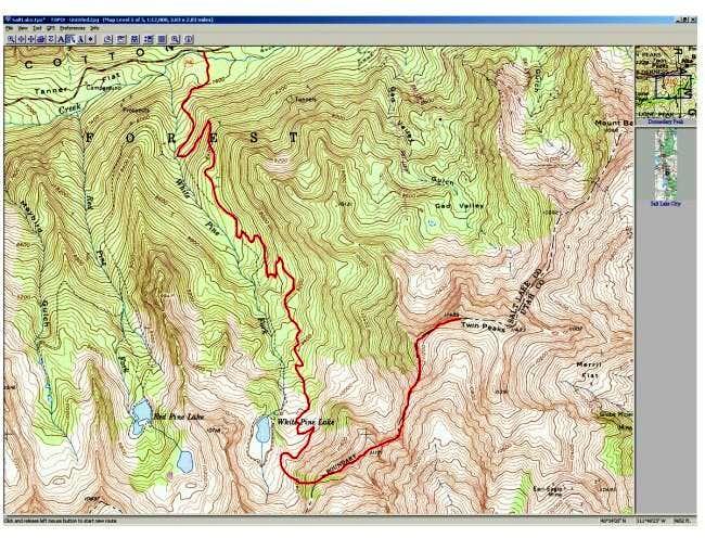 White Pine route