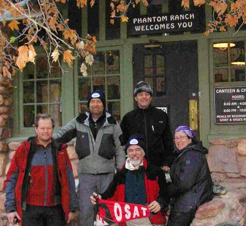 OSAT Grand Canyon 2006 Hikers