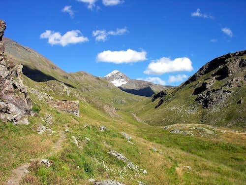 La Tersiva (3515 m.), dal vallone di Grauson