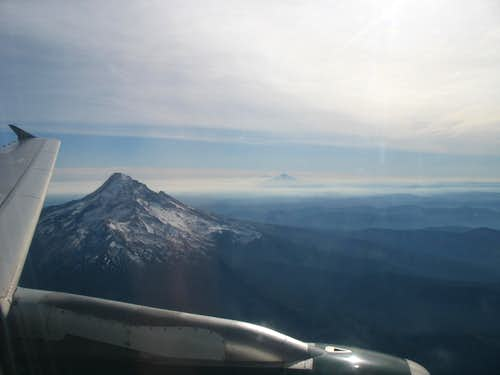 Mount Hood from the Air