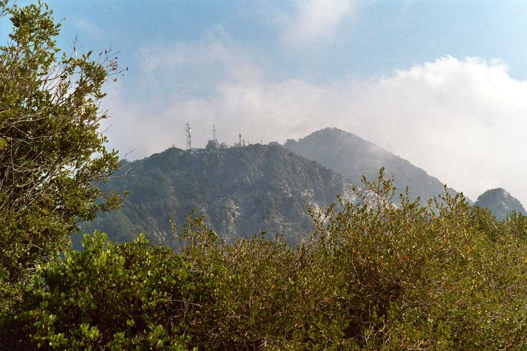 Mt. Disappointment (L), San Gabriel Pk (R)