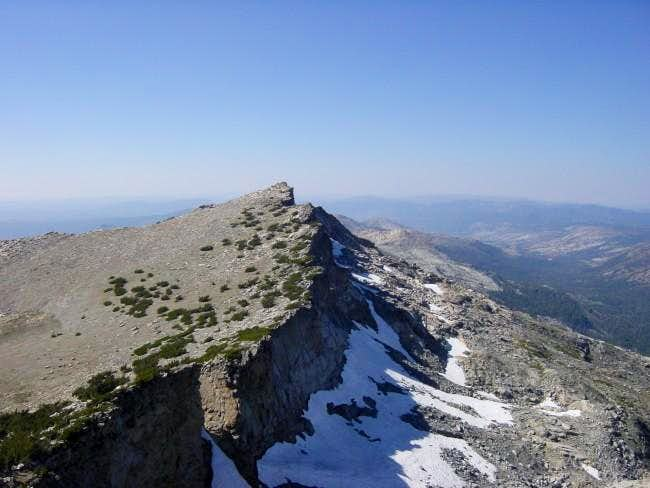 Mt. Price seen from Mt....