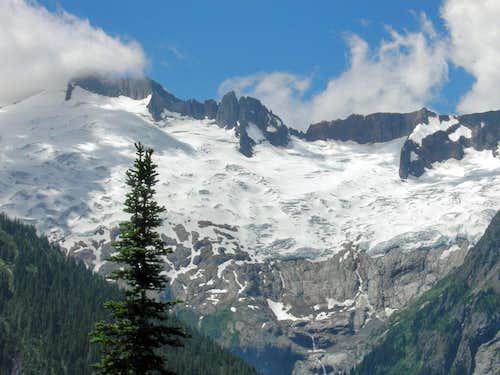 Glaciated Canyon Walls