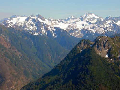Glaciated Peaks