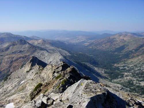 The North Ridge of Mount...