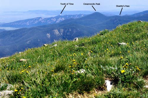 Main Camp to Tooth of Time, Philmont