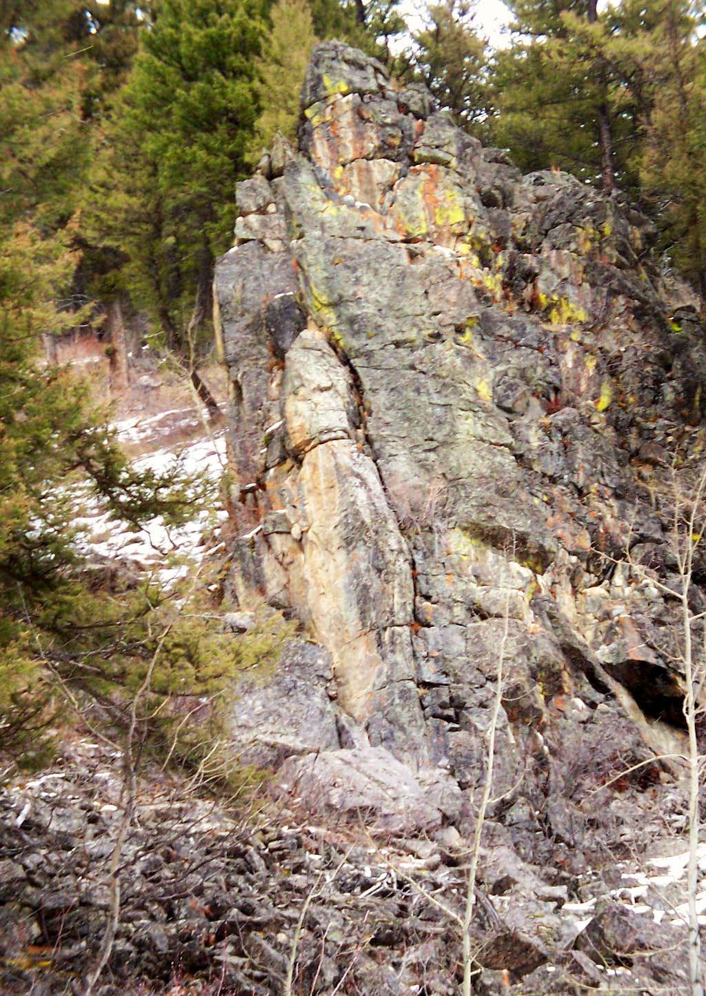 Hyalite Rock