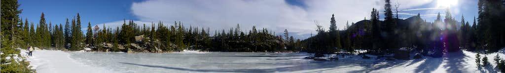 Frozen Lake Panorama
