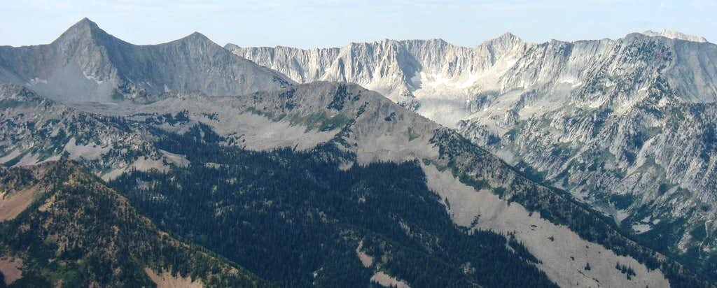 Alpine Ridge from Mount Superior