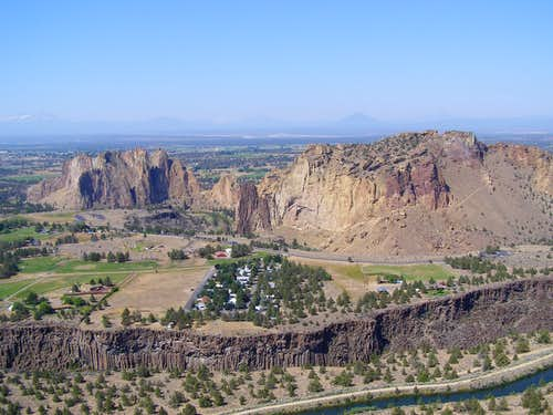 Smith Rocks from Brogan