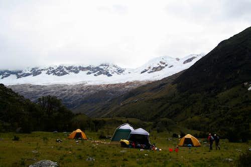 Campsite at Parla/Tuctu