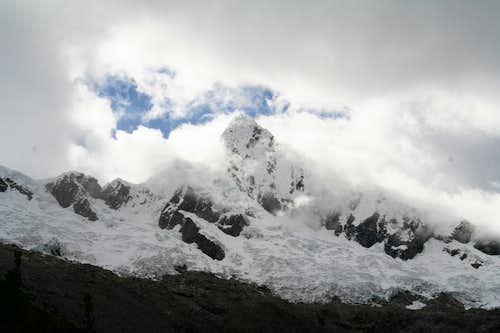 The famous Alpamayo peak