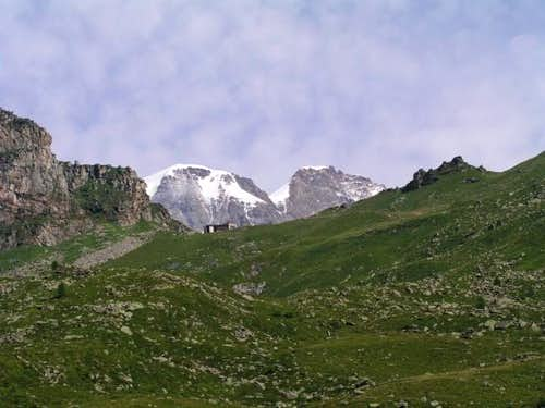 Parrotspitze and Signalkuppe...
