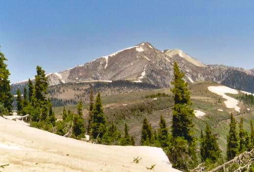 Truchas Peak (left) and...