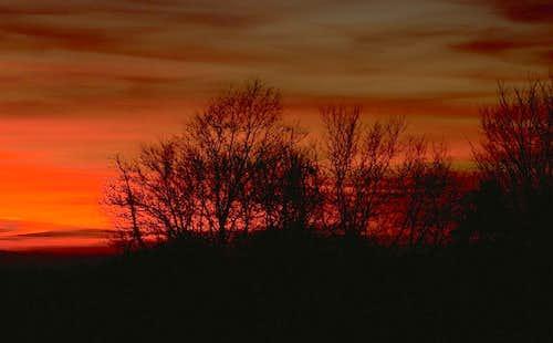 An Autumn Sunset