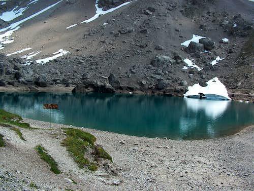 Pond at Karlsbader Hut