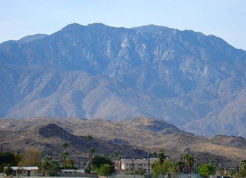 San Jacinto from Palm Springs