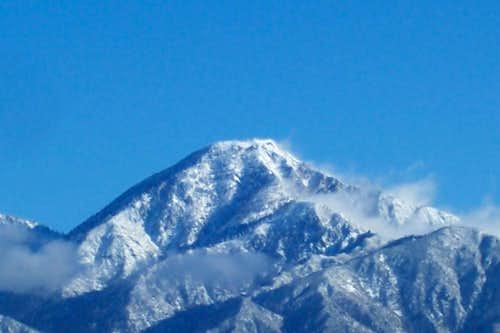 Cucamonga with fresh snow!