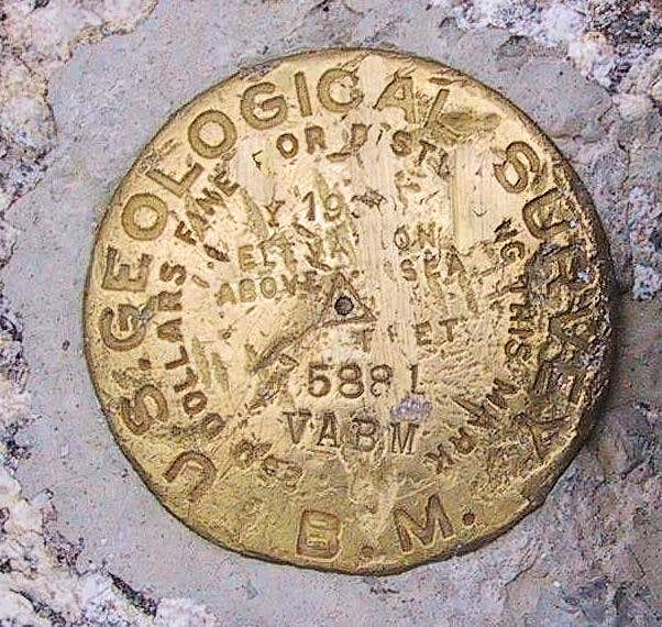 Mt. Spokane Benchmark