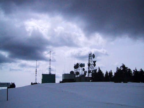 Mt. Spokane towers