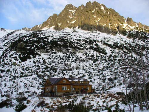 Chata pri Zelenom Plese (Zöldtavi-menedékház)