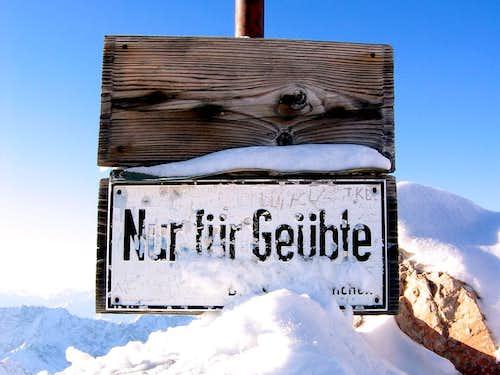 Jubiläumsgrat in Winter: Only for Professionals