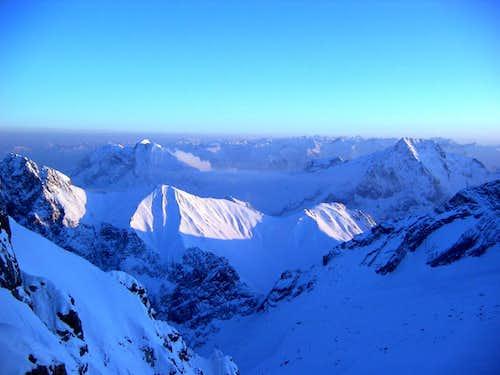 Jubiläumsgrat in Winter: Bivvy with a view
