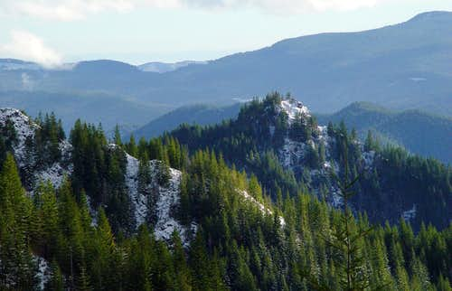 Elk Mountain from...