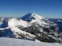 Lassen Peak from Brokeoff Mountain