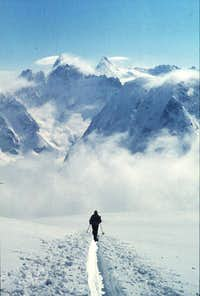 Pigne d'Arolla: ascent from...