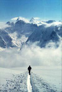 Pigne d'Arolla: ascent from...