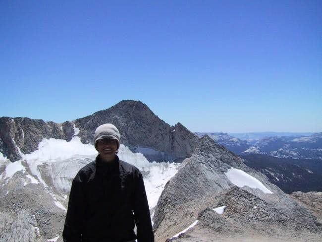 Me on North Peak with Conness...