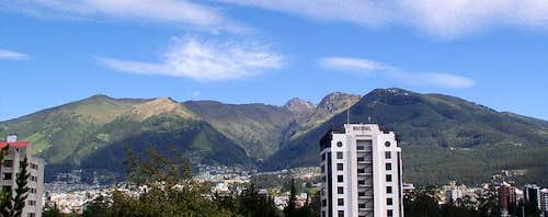 Rucu Pichincha from East...
