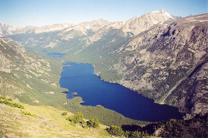 A view of Mystic Lake from...