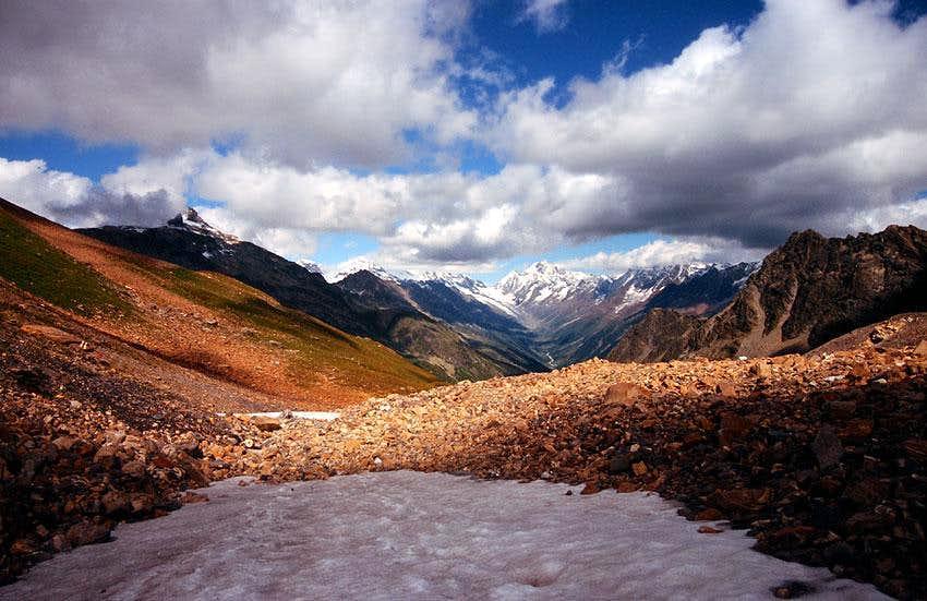 Aletschhorn from Loetschental