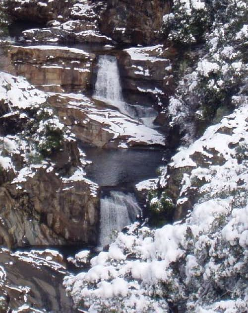 Marble Falls in the Winter