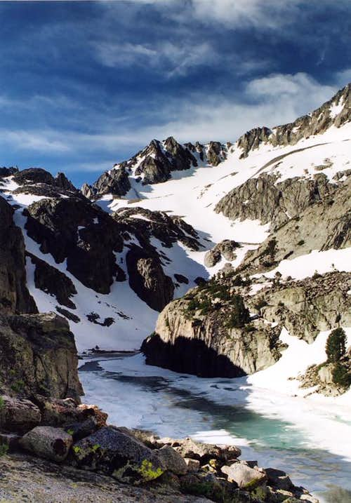 Finger Lake of the Palisades, Eastern Sierra