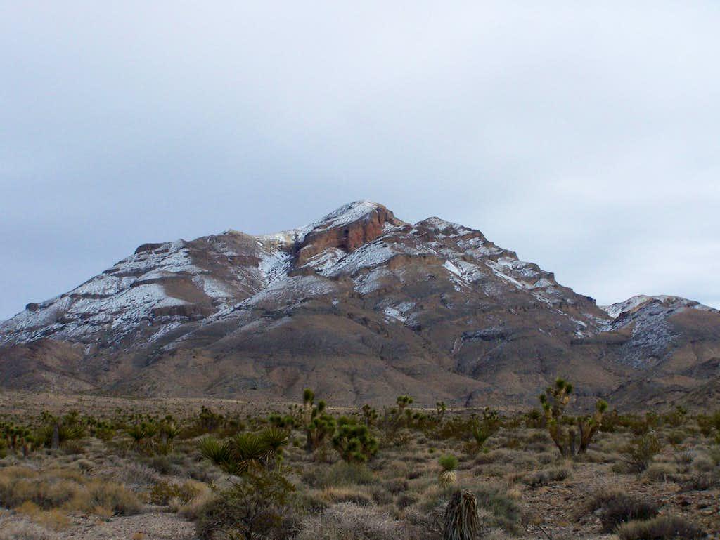 Gass Peak west Ridge