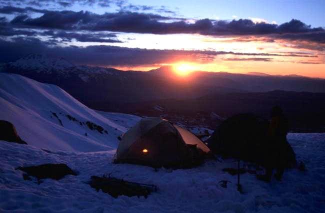 High Camp on Coropuna
