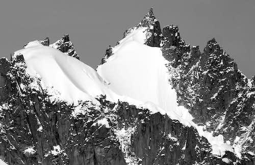 l'Aiguille du Plan (3673 m)