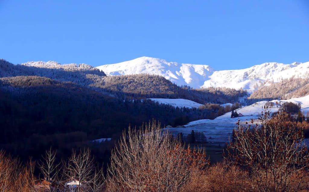 Le punte Chaligne (2607 m)