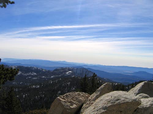 Marion Pk from Wellman Divide