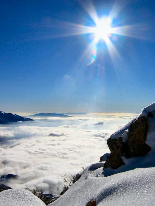 December Summit View