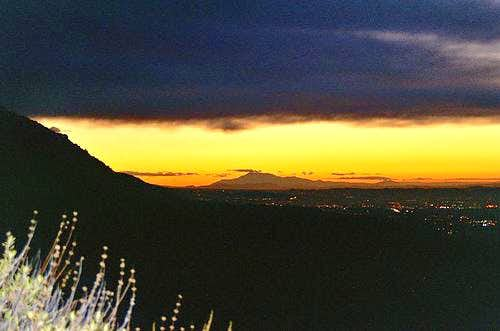 Jones Peak Sunrise