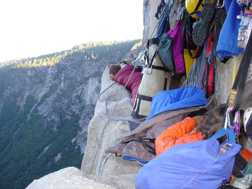 Bivy on Long Ledge