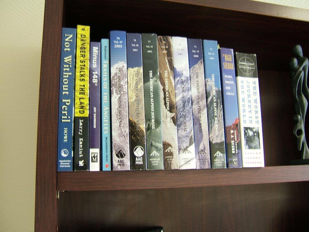 Mountaineering Bookshelf (Not for votes)