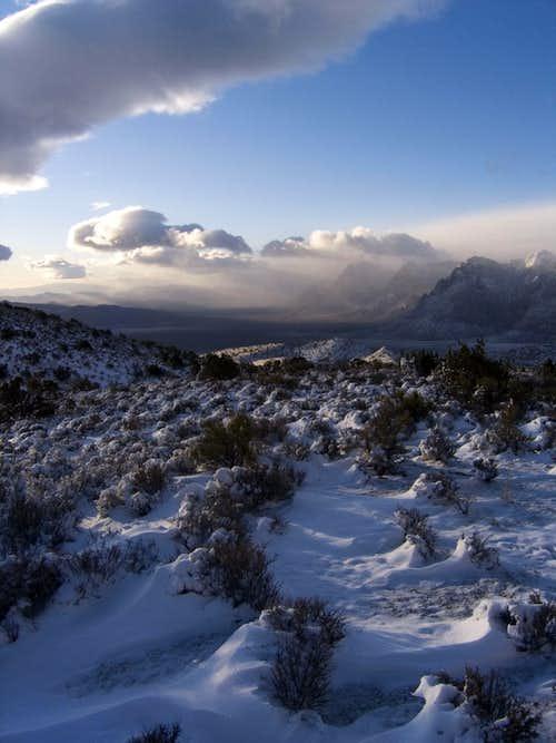 Second snow of '06...