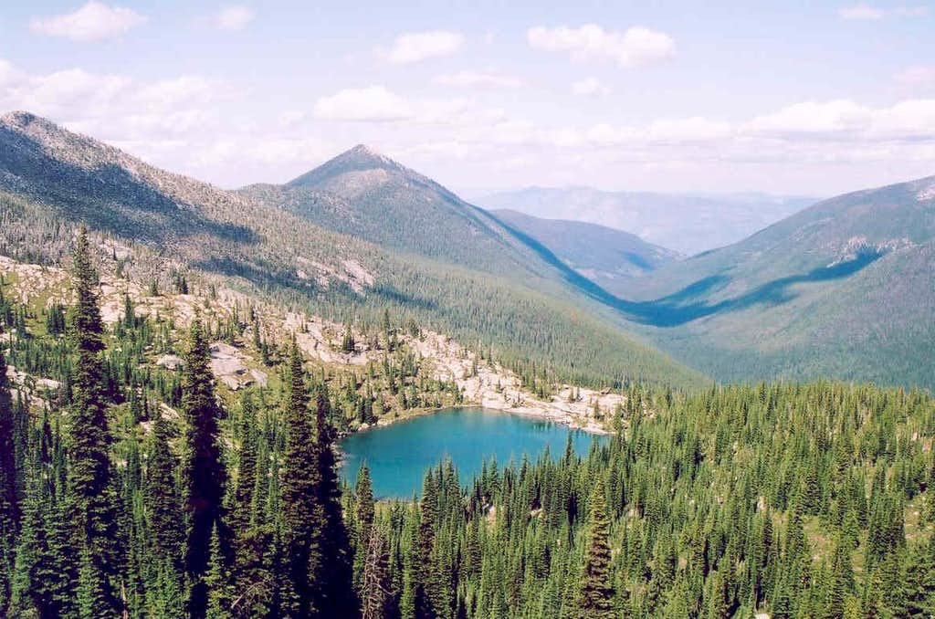 Long Mountain Lake In Parker Canyon