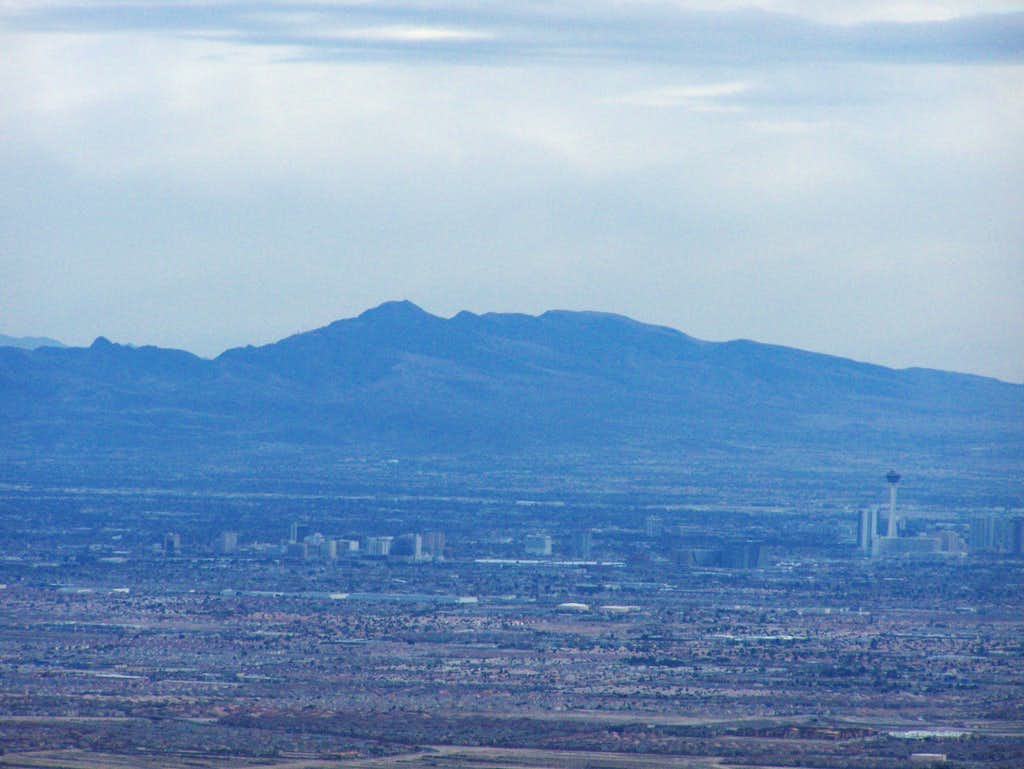 Black Mountain and Las Vegas